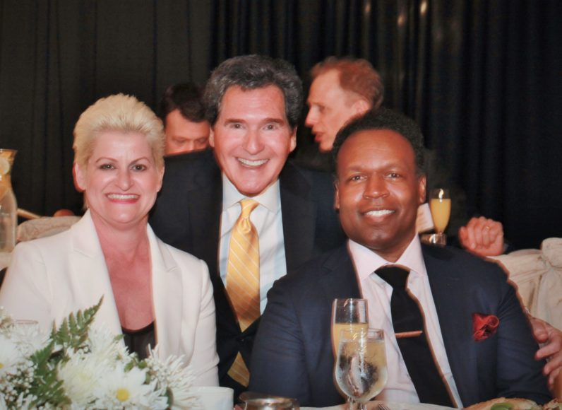 Folio Awards 2016 with Jaci Clement, Ernie Anastos, Byron Harmon