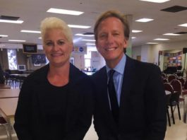 FMC's Jaci Clement with WABC's NJ Burkett at last year's Fair Media Council Connection Day